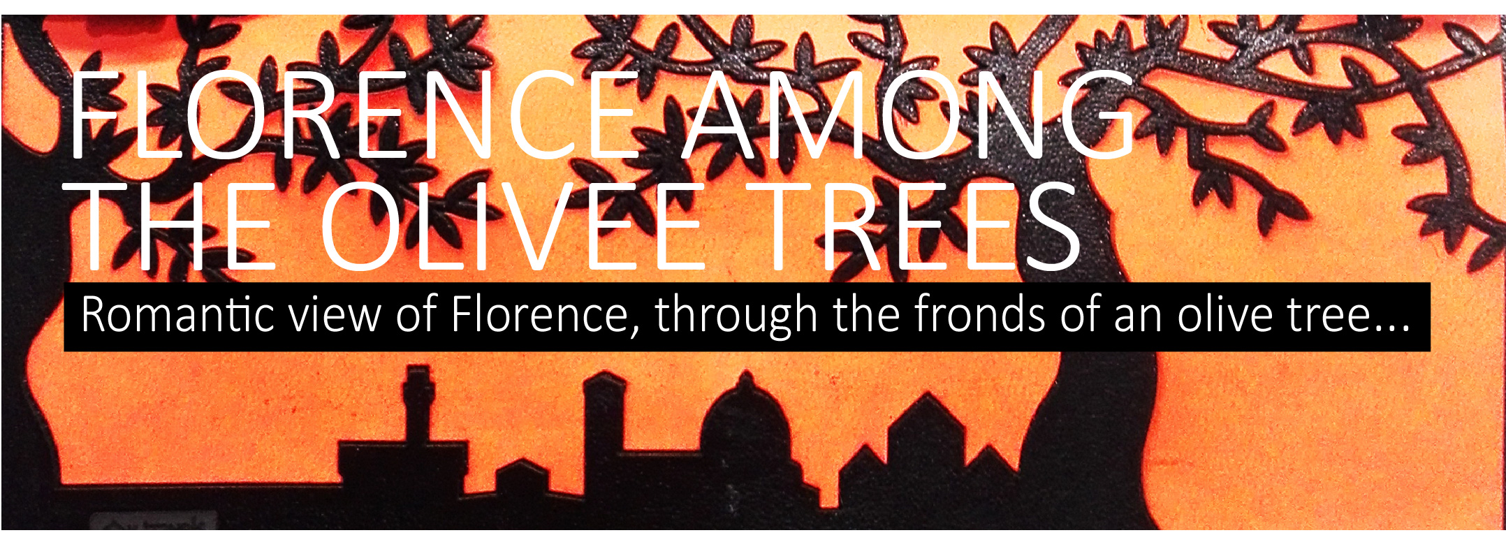 florence amont the olive trees