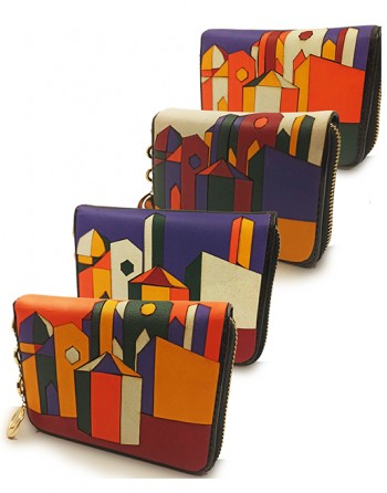 "Medium wallet ""Cubist..."