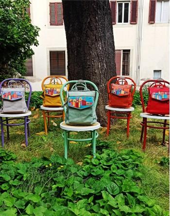"Bagpack ""Cubist Florence""..."