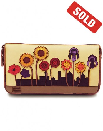 "Large wallet ""Flower'ance""..."